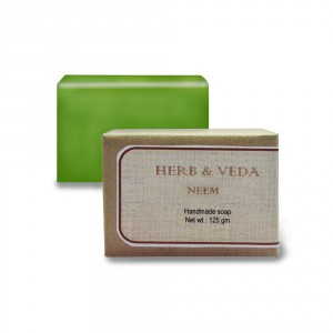 Buy Herbal Herb & Veda Neem Handmade Soap - Nykaa