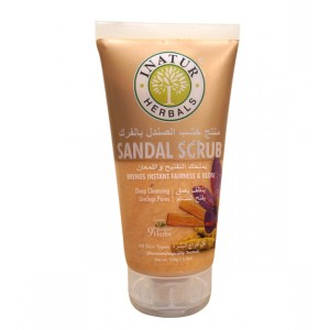Buy Herbal Inatur Sandal Face Scrub - Nykaa