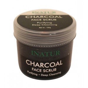 Buy Inatur Charcoal Face Scrub - Nykaa