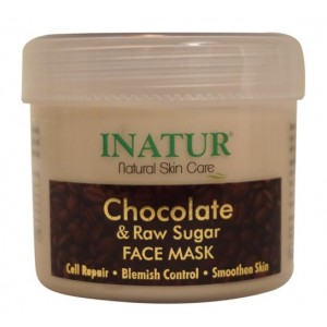 Buy Inatur Chocolate & Raw Sugar Face Mask - Nykaa