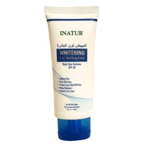 Buy Inatur Whitening 5 In 1 Mattifying Cream Face Brightener - Nykaa