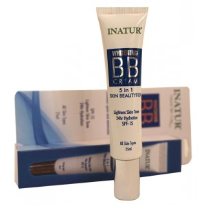 Buy Inatur Whitening BB Cream 5 in 1 Face Beautyfier - Nykaa