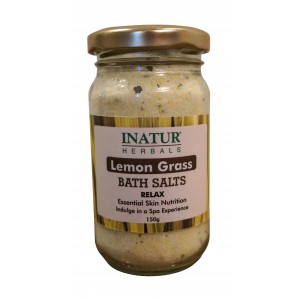Buy Inatur Lemongrass Bath Salt - Nykaa