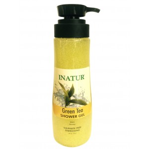 Buy Herbal Inatur Green Tea Shower Gel - Nykaa