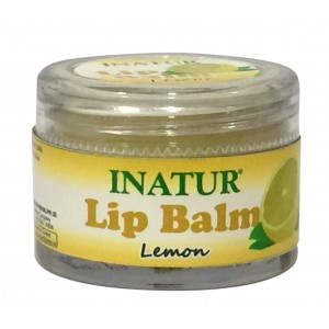Buy Inatur Lemon Lip Balm - Nykaa
