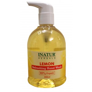 Buy Inatur Lemon Hand Wash - Nykaa