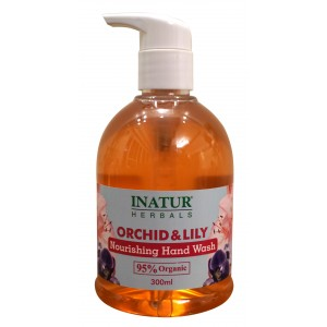 Buy Inatur Orchid & Lily Hand Wash - Nykaa