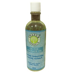 Buy Inatur De - Tox Head & Body Massage Oil - Nykaa