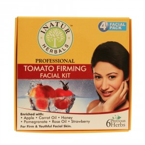 Buy Inatur Tomato Firming Facial Kit - Nykaa