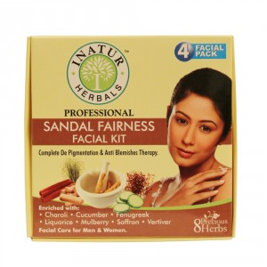 Buy Inatur Sandal Fairness Facial Kit - Nykaa
