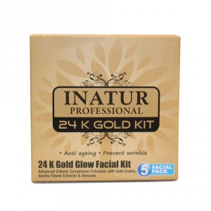 Buy Inatur 24K Gold Glow Facial Kit - Nykaa