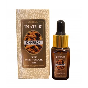 Buy Inatur Cinnamon Essential Oil - Nykaa