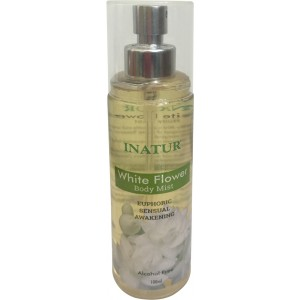 Buy Inatur White Flower Body Mists - Nykaa