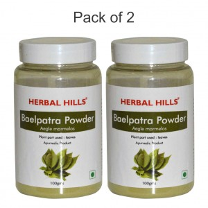 Buy Herbal Hills Baelpatra Powder - Pack Of 2 - Nykaa