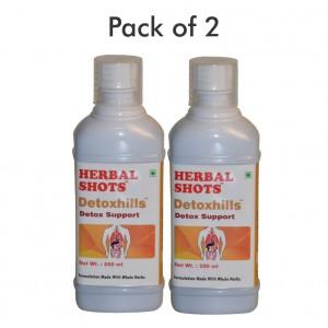 Buy Herbal Hills Detoxhills Herbal Shots (Pack of 2) - Nykaa