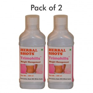 Buy Herbal Hills Trimohills Herbal Shots (Pack of 2) - Nykaa