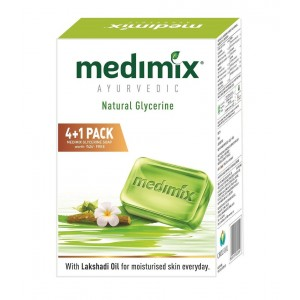 Buy Medimix Ayurvedic Natural Glycerine Soap Buy 4 Get 1 Free Worth Rs.45 - Nykaa