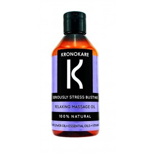 Buy Kronokare Seriously Stress Busting Relaxing Massage Oil - Nykaa