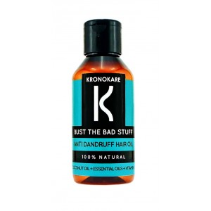 Buy Kronokare Bust The Bad Stuff Anti Dandruff Hair Oil - Nykaa