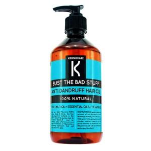 Buy Kronokare Bust The Bad Stuff Anti Dandruff Hair Oil - Nykaa
