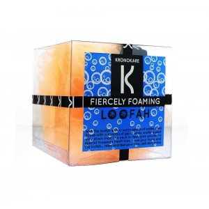 Buy Kronokare Fiercely Foaming Orange Loofah - Nykaa
