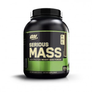 Buy Optimum Nutrition (ON) Serious Mass Gainer (Chocolate) - Nykaa
