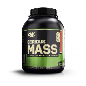 Buy Optimum Nutrition (ON) Serious Mass Gainer (Strawberry) - Nykaa