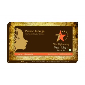 Buy Passion Indulge Skin Lightening Pearl Light 7 Star Facial Kit - Nykaa