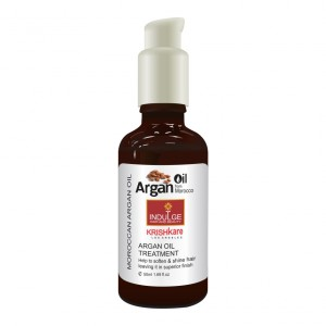 Buy Krishkare Argan Oil From Morocco Indulge Hair And Beauty Nourishing Oil - Nykaa