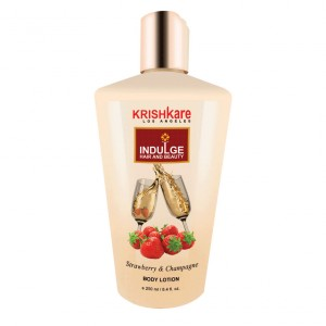 Buy Krishkare Strawberry And Champagne Body Lotion - Nykaa