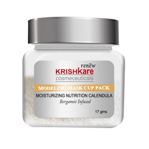 Buy Herbal Krishkare Modeling Mask Cup Pack Moisturizing Nutrition Calendula - Nykaa