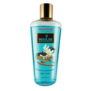 Buy Krishkare Vanilla And Sandalwood Body Wash - Nykaa