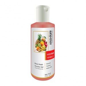 Buy Krishkare Mix Fruit Wash Body Douche Gel - Nykaa
