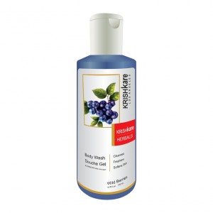 Buy Krishkare Wild Berries Body Wash Douche Gel - Nykaa