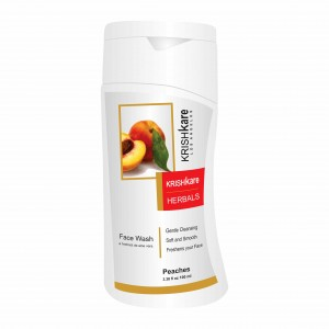 Buy Krishkare Peaches Face Wash - Nykaa