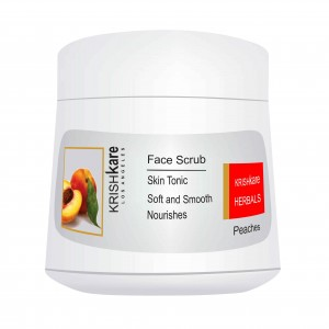Buy Krishkare Peaches Face Scrub - Nykaa
