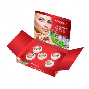 Buy Krishkare Aloe Vera Facial Kit - Nykaa