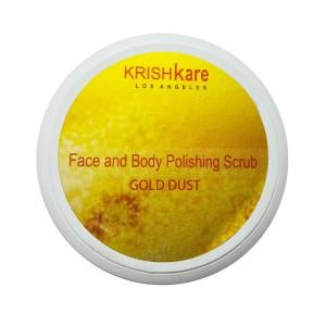 Buy Krishkare Face And Body Polishing Scrub - Gold Dust - Nykaa