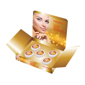 Buy Krishkare Saffron Gold Facial Kit - Nykaa