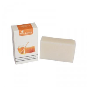Buy Wild Earth Honey Oatmeal Milk Soap - Nykaa