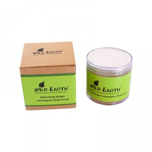 Buy Wild Earth Refreshing Ginger Lemongrass Body Scrub - Nykaa
