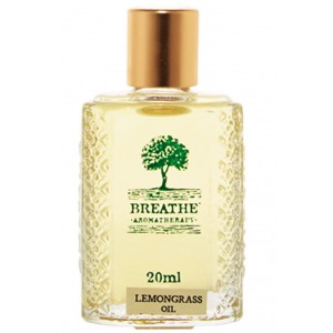 Buy Breathe Aromatherapy Lemongrass Oil - 20ml - Nykaa