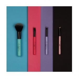 Buy Lottie London Tools on Tour - 4 Piece Mini Brush set (Multicolour) - Nykaa