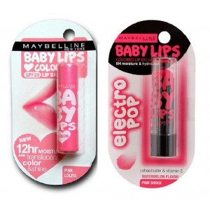 Buy Buy Maybelline New York Baby Lips Color Balm - Pink Lolita & Get Baby Lips Electro Pop Free - Nykaa