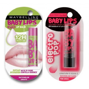 Buy Buy Maybelline New York Baby Lips Color Balm - Watermelon Smooth & Get Baby Lips Electro Pop Free - Nykaa