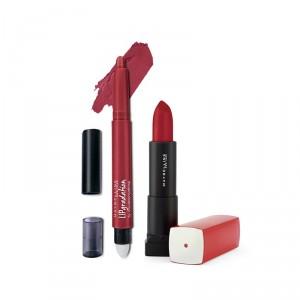 Buy Buy Maybelline New York Color Sensational Lip Gradation - Red 1 & Get Color Sensational Lipstick Free - Nykaa