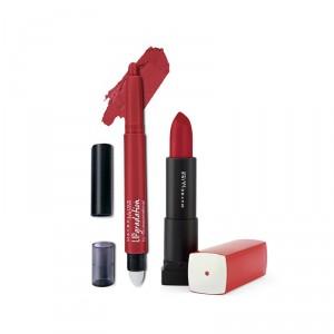 Buy Buy Maybelline New York Color Sensational Lip Gradation - Red 2 & Get Color Sensational Lipstick Free - Nykaa