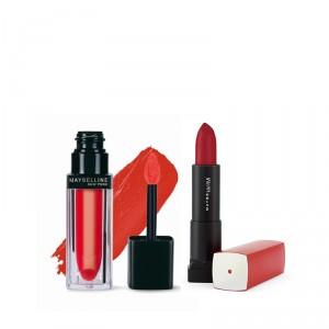 Buy Buy Maybelline New York Color Sensational Velvet Matte Lipstick - Hot Tangerine MAT 5 & Get Color Sensational Lipstick Free - Nykaa