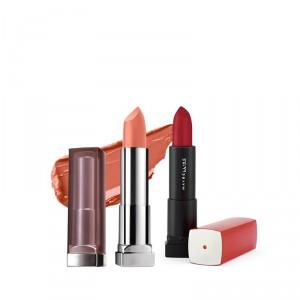 Buy Buy Maybelline New York Color Sensational Creamy Matte Lipstick - Daringly Nude & Get Color Sensational Lipstick Free - Nykaa