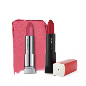 Buy Buy Maybelline New York Color Sensational Powder Matte Lipstick - Technically Pink  & Get Color Sensational Lipstick Free - Nykaa